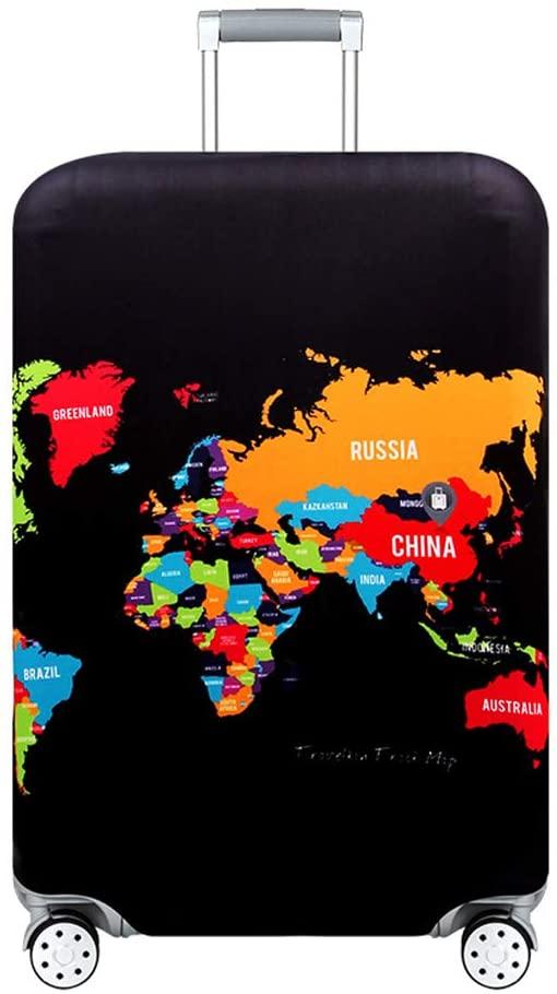 Housse de valise pays du monde