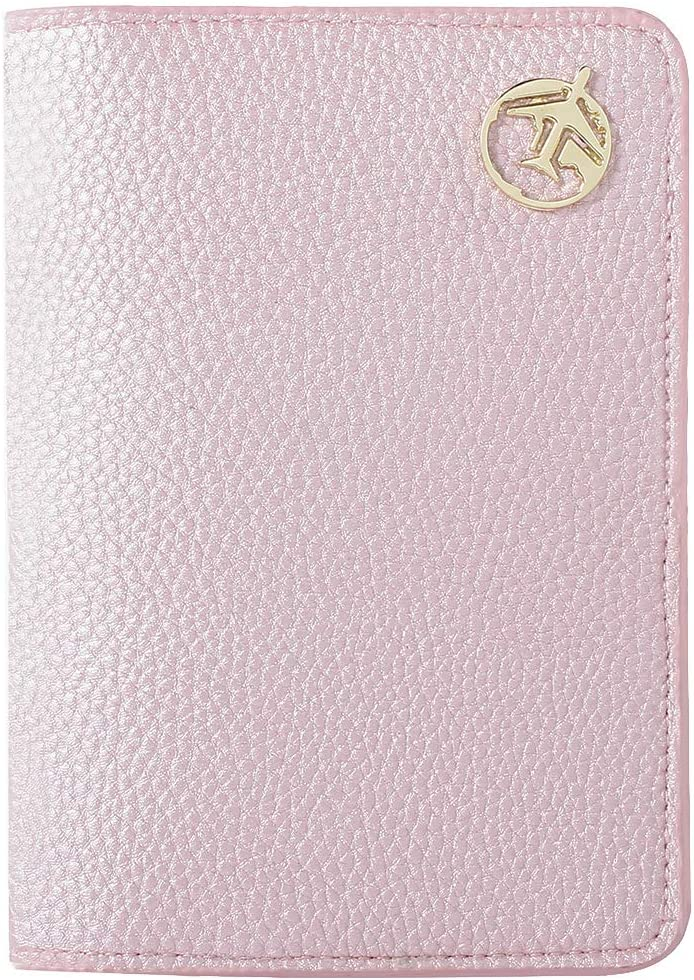 protège passeport lychii rose