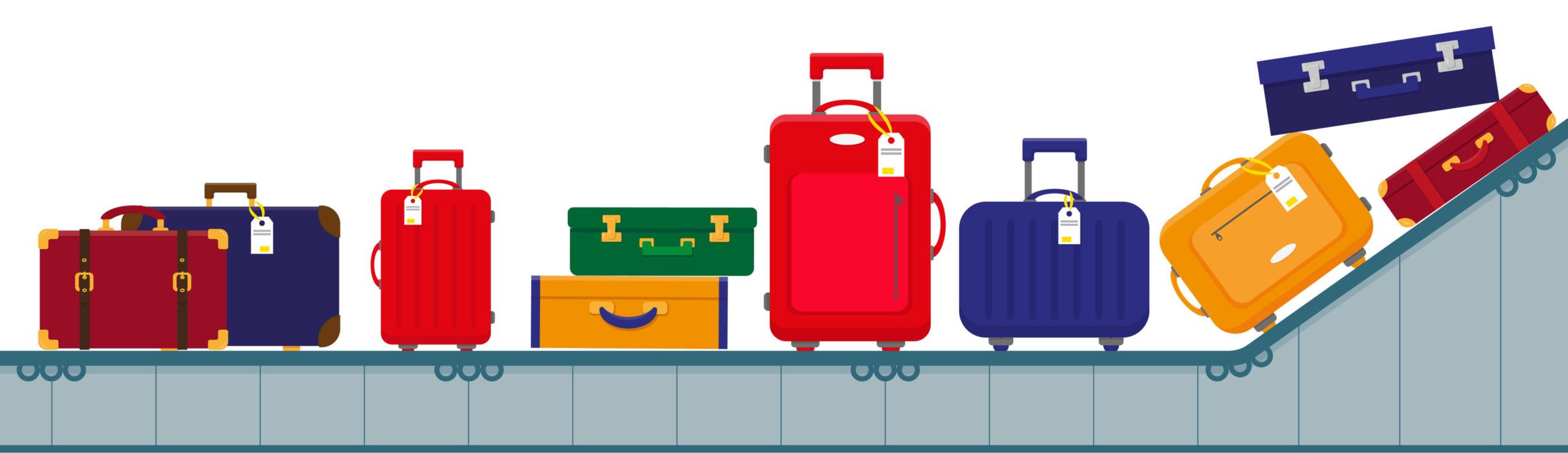 valises tapis roulant 1