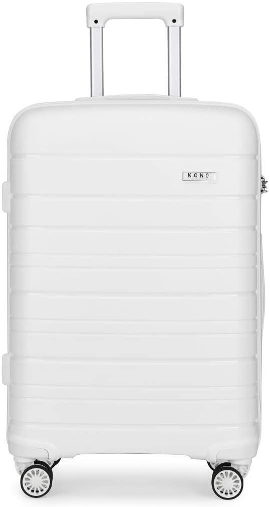 grande valise rigide blanche kono