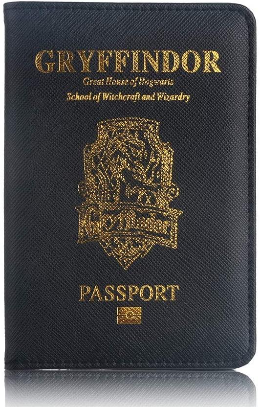 protège passeport harry potter gryffondor