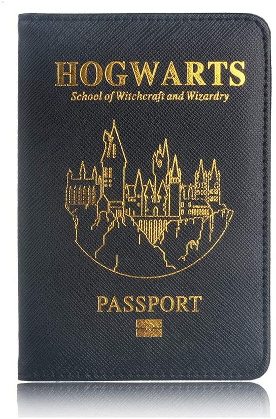 protège passeport harry potter hogwart
