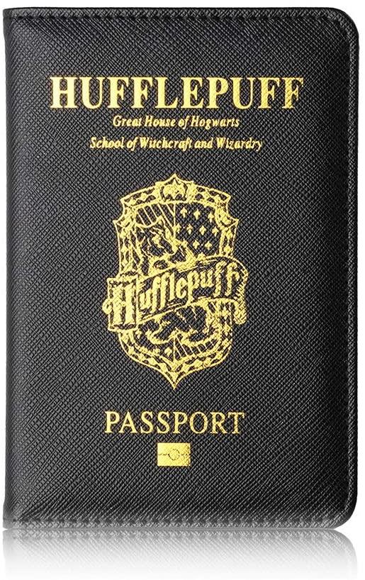 protège passeport harry potter poufsouffle