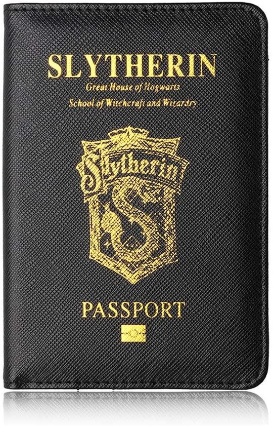 protège passeport harry potter serpentard