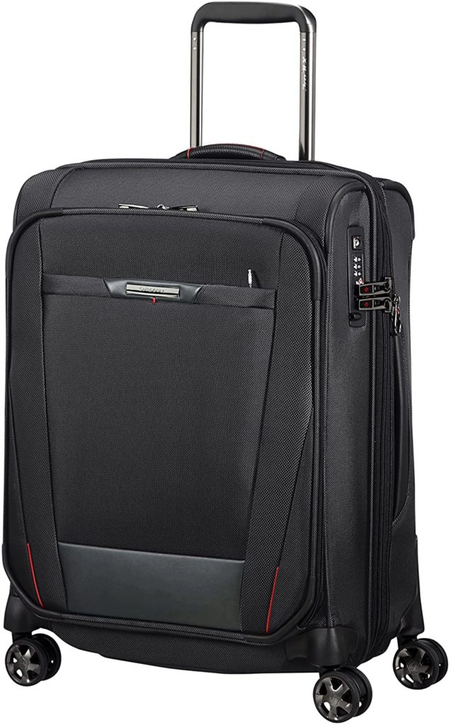 samsonite pro dlx 5 spinner s extensible bagage cabine