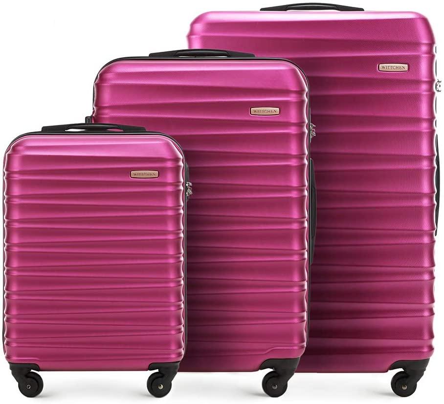set valise abs rose wittchen