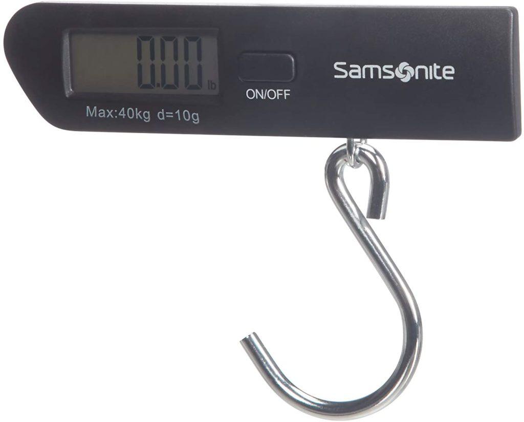 pèse bagage samsonite numérique