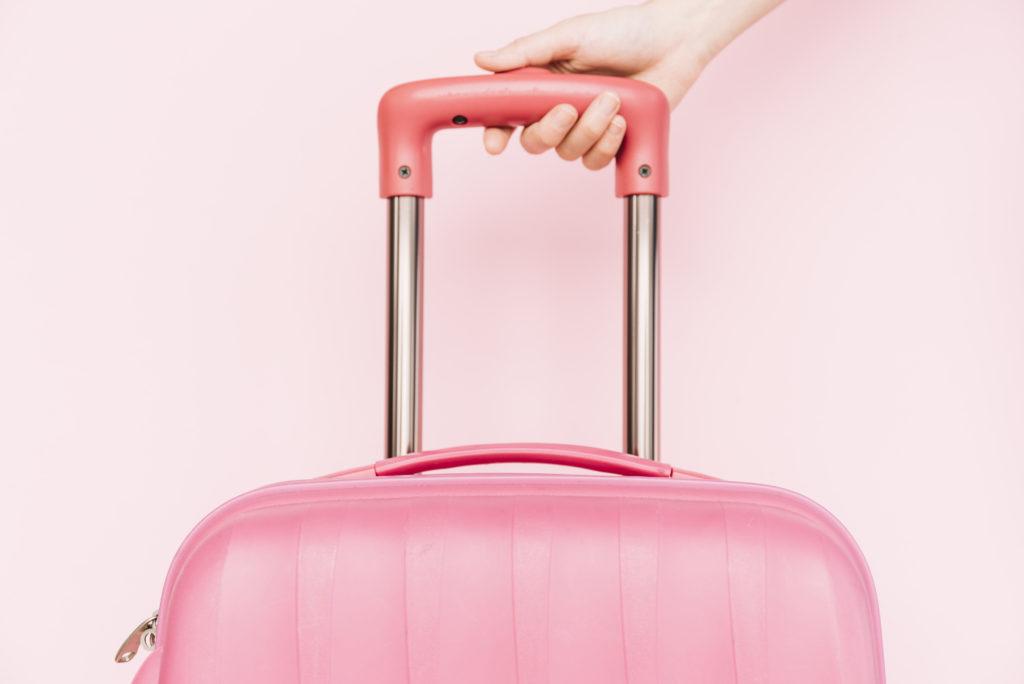 valise rose 1