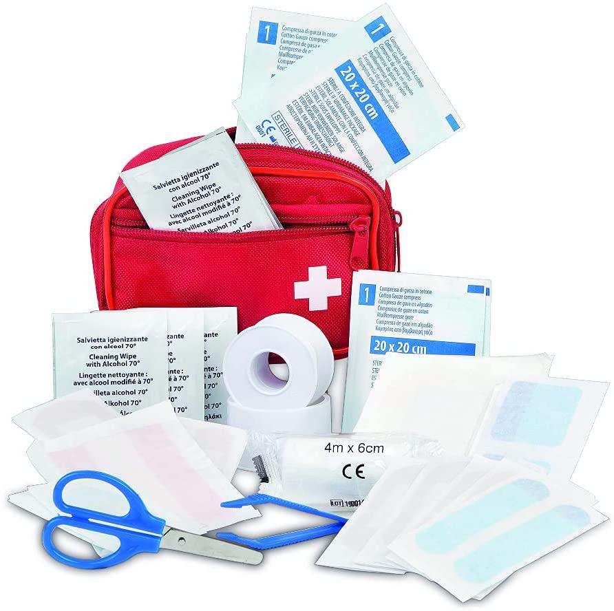 amazon basic kit de premiers secours avec 54 pièces